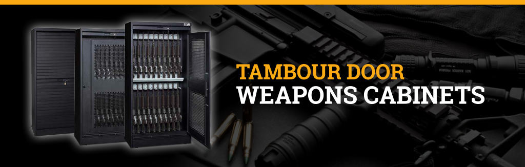 Tambour Door Weapon Cabinets