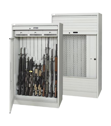 Tambour Door Weapons Security Cabinets