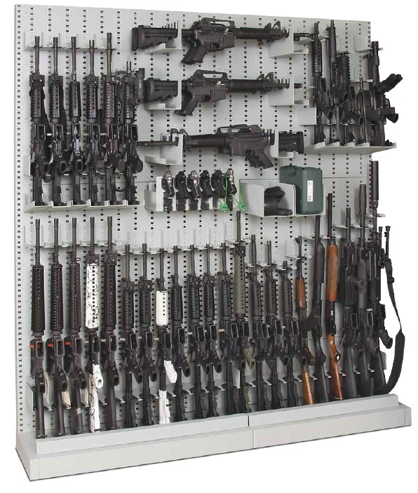expandable weapons racks