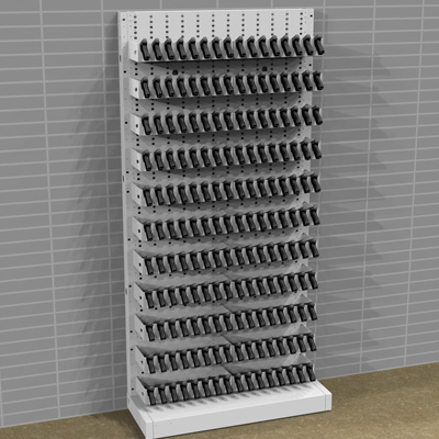 Expandable Weapons Racks Full Pistol Storage