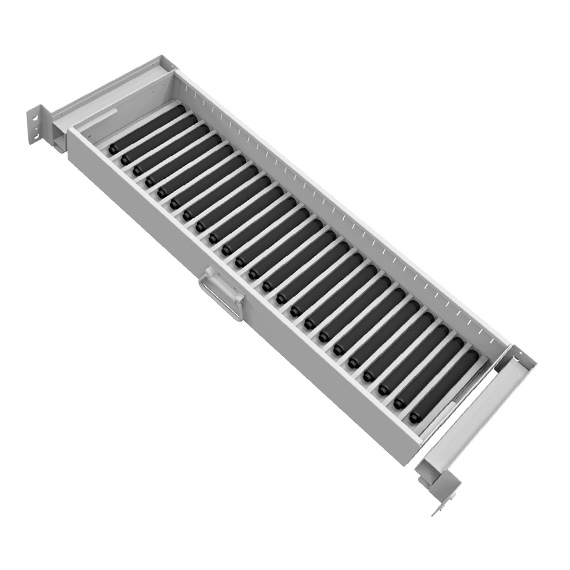 Bi-Fold Security Cabinet Roll-out Drawer for Batons, BFA's