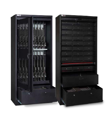 Secure Cabinets with Compartments