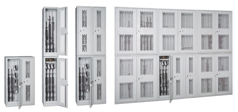 stackable weapons lockers